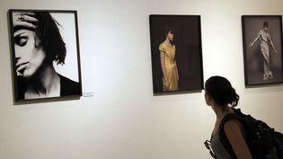 """Exposition """"Intimités"""", les photos de Kate Barry au théâtre Liberté de Toulon  (EDELMIRO FRANCO / NOTIMEX / AFP)"""