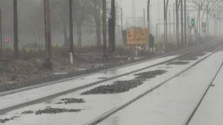 Tempête Justine : le trafic ferroviaire perturbé dans le sud-ouest (Capture d'écran franceinfo)