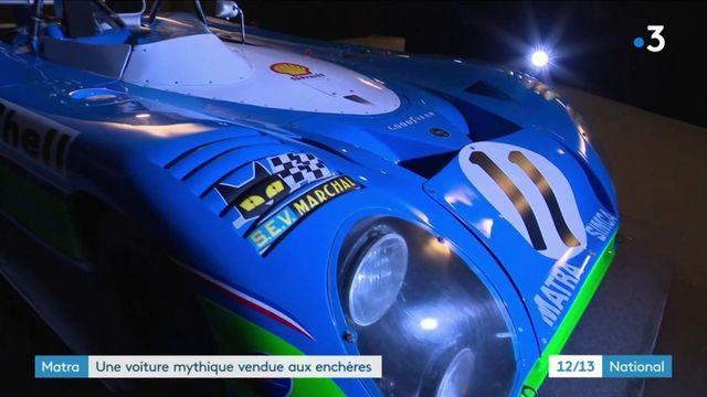 Matra : la voiture mythique aux enchères