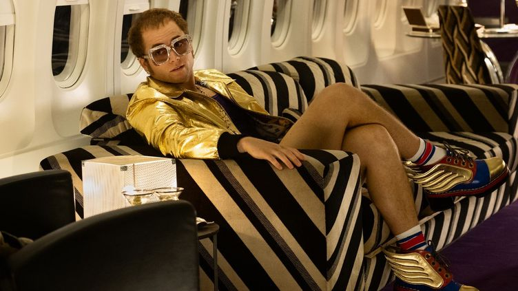 L'acteur Taron Egerton incarne Elton John dans le biopic Rocketman. (PHOTO CREDIT: DAVID APPLEBY)