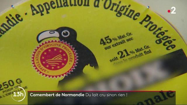 Camembert : du lait cru ou rien