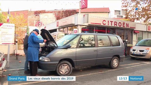 Grand Paris : les véhicules polluants interdits dès 2019