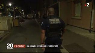 Couvre-feu à Colombes. (FRANCE 2)
