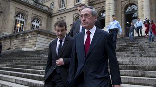 L'ancien ministre de l'Intérieur, Claude Guéant, le 13 novembre 2015 à Paris. (KENZO TRIBOUILLARD / AFP)