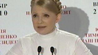 "Ioulia Timochenko, figure de proue de la ""révolution orange"" ukrainienne de 2004. (France 2)"