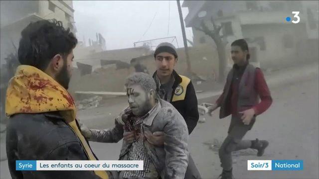 Syrie : les enfants au coeur du massacre