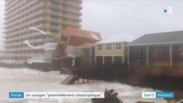 Etats-Unis : la Floride soufflée par l'ouragan Michael