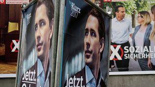Sebastian Kurz, 31 ans, actuel ministre des Affaires étrangères, devrait arriver en tête et devenir chancelier de l'Autriche. (LEONHARD FOEGER / X00360)