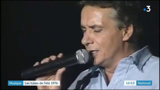 """Musique : """"Je vais t'aimer"""" de Michel Sardou et """"Porque te vas"""" de Jeanette, tubes de l'été 1976"""