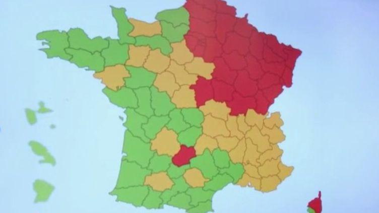 Carte du déconfinement : des incohérences relevées dans certains départements (FRANCEINFO)