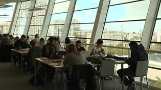 La bibliothèque de Rennes un dimanche après-midi  (France 2 Culturebox capture d'écran)