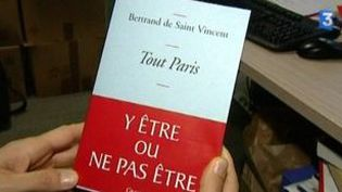 """Le """"Tout Paris"""" selon Bertrand de Saint-Vincent  (Culturebox)"""