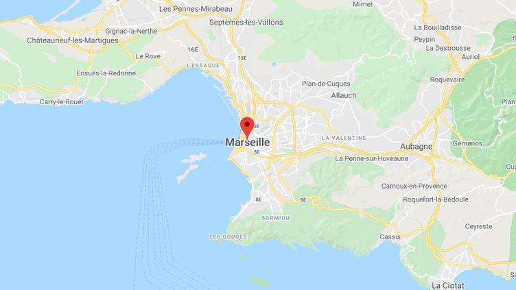 Marseille (Bouches-du-Rhône). (GOOGLE MAPS)