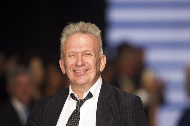 Le couturier Jean Paul Gaultier, octobre 2014  (ERIKA SANTELICES / AFP)