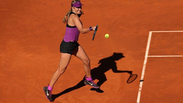 Victoria Azarenka n'a pas passé le 2e tour sur la terre battue de Rome (DAVE SHOPLAND / BACKPAGE IMAGES LTD)