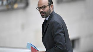 Edouard Philippe arrive à l'Elysée, à Paris, le 18 mai 2017. (STEPHANE DE SAKUTIN / AFP)