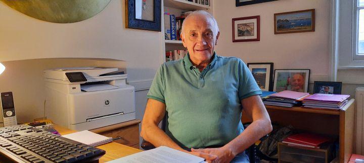 Marc Roche, journaliste et essayiste, devenu citoyen britannique. (RICHARD PLACE / RADIO FRANCE)