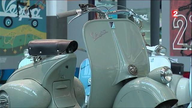 Vespa : le célèbre scooter fête ses 70 ans