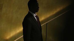Le président zambien,Edgar Lungu, à l'ONU à New York le 24 septembre 2018 (REUTERS - CARLO ALLEGRI / X90181)
