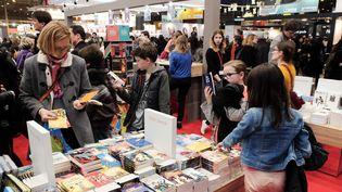 Image d'archives : le Salon du Livre, à Paris, le 21 mars 2015... (WITT / SIPA)