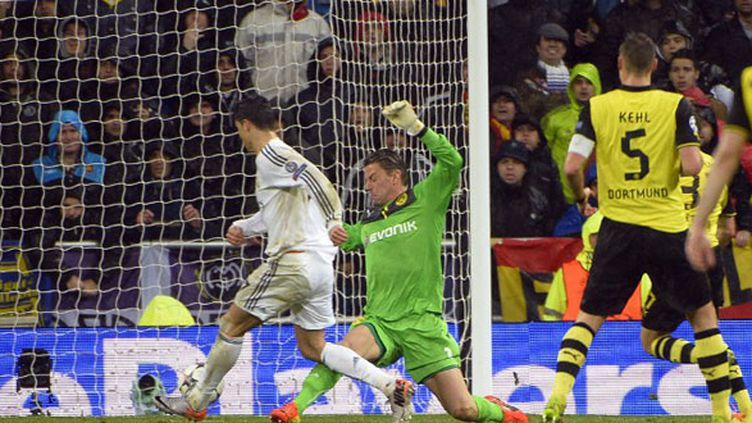 Le troisième but du Real Madrid, oeuvre de Cristiano Ronaldo, face au Borussia