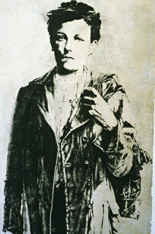 Arthur Rimbaud par Ernest Pignon-Ernest  (PHOTONONSTOP / AFP)