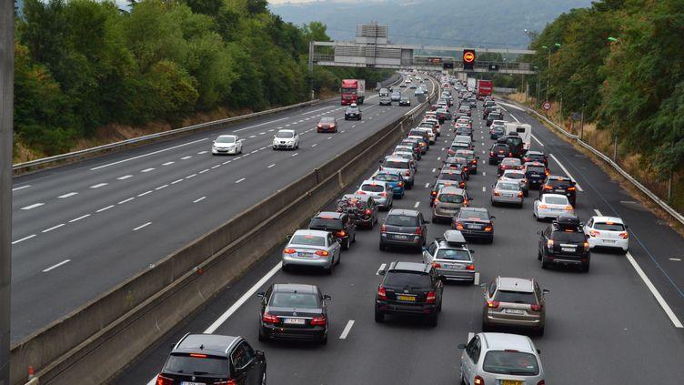 L'enfant a passé plusieurs heures au bord de l'autoroute avant d'être retrouvé par les gendarmes. (SYLVAIN THIZY / CITIZENSIDE.COM / AFP)