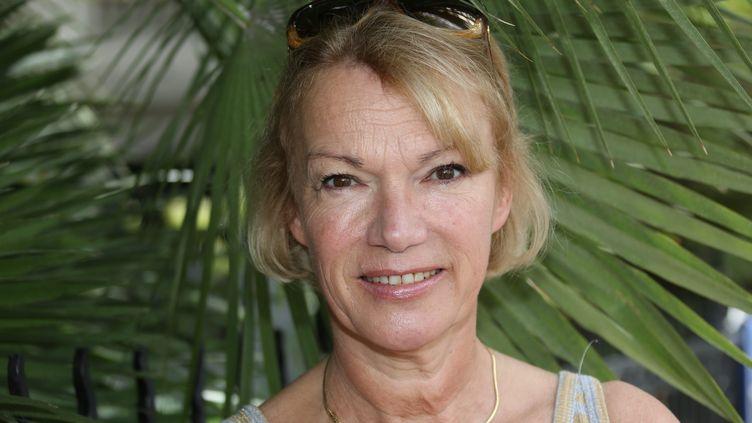 Brigitte Lahaie au festival du livre à Nice, le 15 juin 2014. (MAXPPP)