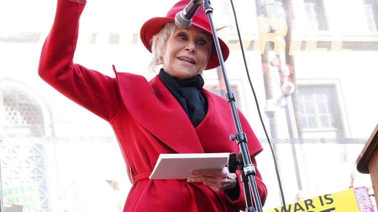 Jane Fonda, à Los Angeles, le 7 février 2020. (RACHEL LUNA / GETTY IMAGES NORTH AMERICA)