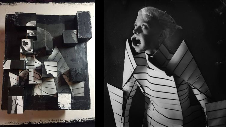 """Exposition """"England Fallen. Working with Gareth Pugh""""  (Paulina Otylie Surys/courtesy of NUE galerie )"""