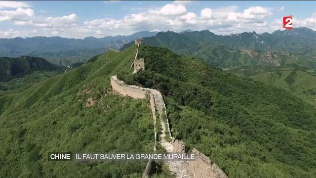 Chine : il faut sauver la Grande muraille