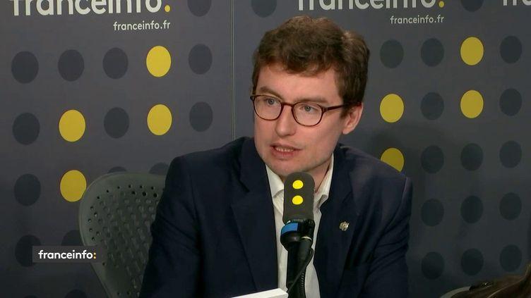 Arnaud Gauffier, directeur des programmes au WWF sur franceinfo le mercredi 12 février 2020. (FRANCEINFO)