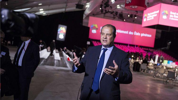 (Clôture des Etats généraux des socialistes samedi soir au Paris Event Center, en présence de Jean-Christophe Cambadelis, premier secrétaire du PS © Maxppp)