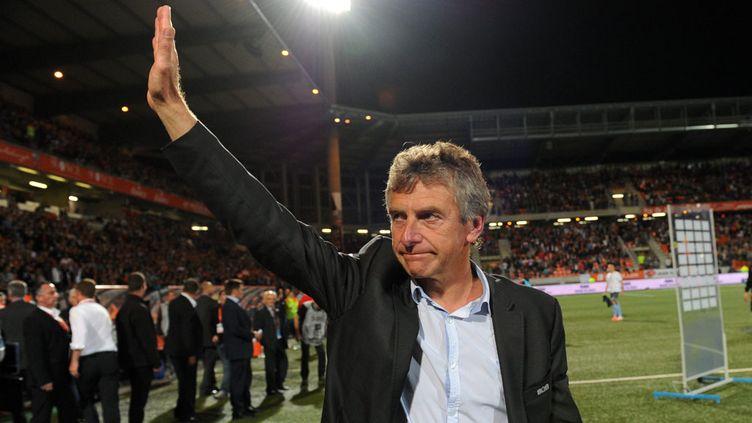 (Christian Gourcuff avait déjà entraîné le Stade Rennais en 2001-2002 © MaxPPP)