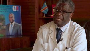 Denis Mukwege, prix Nobel de la paix (FRANCE 2)