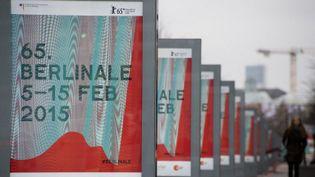 L'affiche de la 65e Berlinale  (JOHN MACDOUGALL / AFP)
