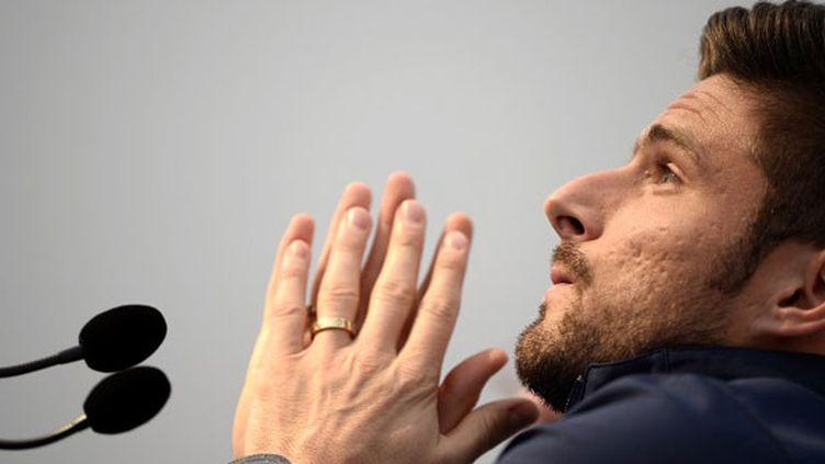 Olivier Giroud n'a pas participé à l'entraînement des Bleus