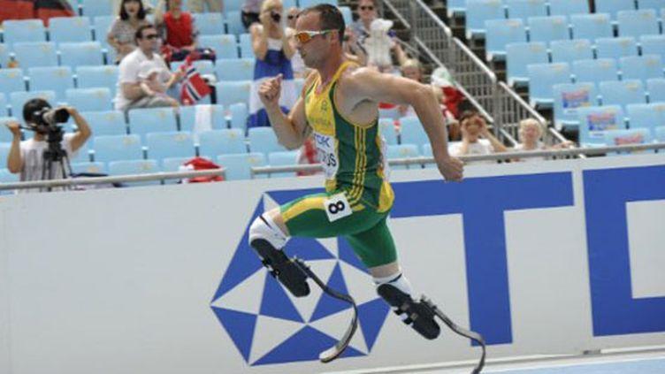Oscar Pistorius, premier athlète paralympique à participer à des Mondiaux avec les valides