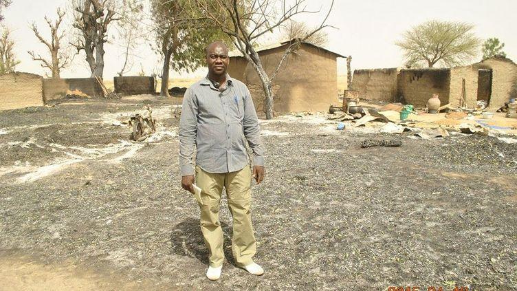 Photo du profil Facebook de Ahmed Abba,correspondant de RFI au Cameroun. (Capture d'écran)