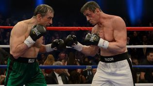 """Robert De Niro et Sylvester Stallone sur le ring dans """"Match retour"""" de Peter Segal  (Warner Bros Entertainment)"""