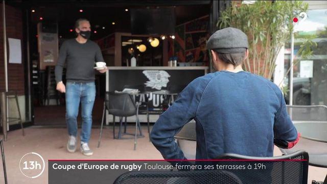 Toulouse : les terrasses fermées dès 19 heures pour éviter les attroupements de fans de rugby