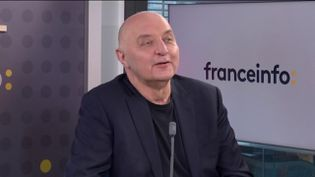 Pascale Morand,président exécutif de la Fédération de la haute couture et de la mode,invité de franceinfo le 5 mars 2021. (FRANCEINFO)