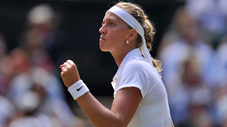 Petra Kvitova  (GLYN KIRK / AFP)