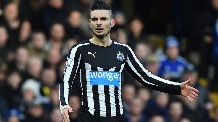 Rémy Cabella sous les couleurs de Newcastle. (BEN STANSALL / AFP)