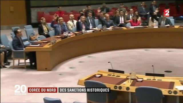 Corée du Nord : des sanctions économiques historiques