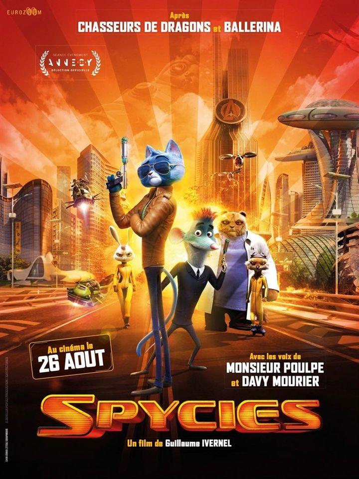 """L'affiche de""""Spycies"""" deGuillaume Ivernel. (Copyright Eurozoom)"""