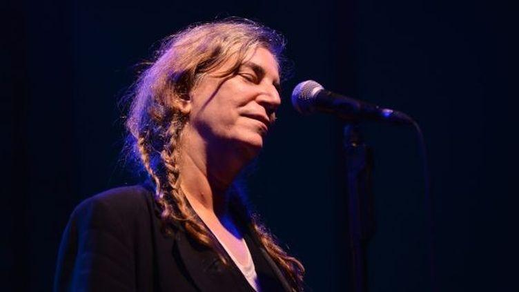 Patti Smith en concert aux Nuits de la Guitarde de Patrimonio  (Pierre Murati/MAXPPP)