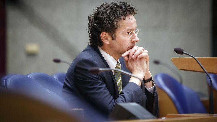 Le nouveau président de l'Eurogroupe, Jeroen Dijsselbloem, le 17 janvier 2013 à La Haye (Pays-Bas). (PHIL NIJHUIS / AFP)