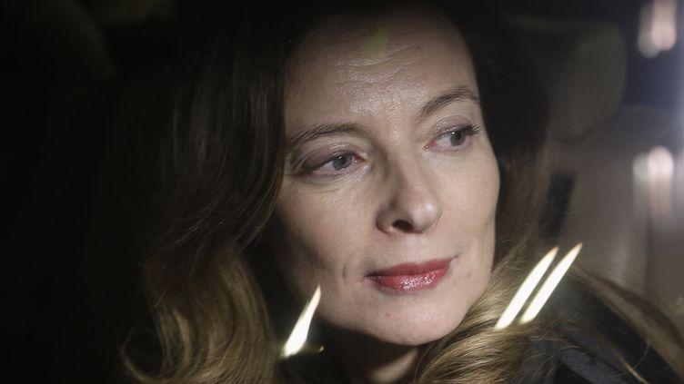Valérie Trierweiler, le 27 janvier 2014 à Bombay (Inde). (DANISH SIDDIQUI / REUTERS)