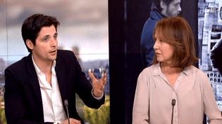 """Raphaël Personnaz et Nathalie Baye : """"On est sortis différents de ce tournage""""  (France 2 Culturebox)"""